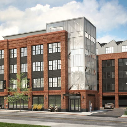 The Vestry at 147 Bloomfield Ave. will consist of 46