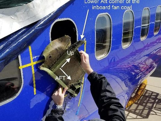 A shattering noise, then a deafening roar. New details from Southwest plane's engine failure over Pennsylvania