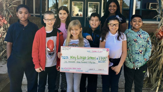 Students from two Linden Public Schools recently teamed up to help a school in need more than 1,300 miles away.