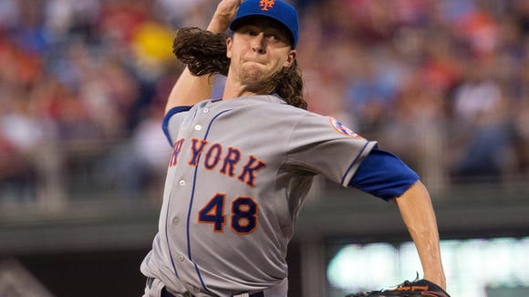 You won't recognize Mets' Jacob deGrom after he cut off all his long hair