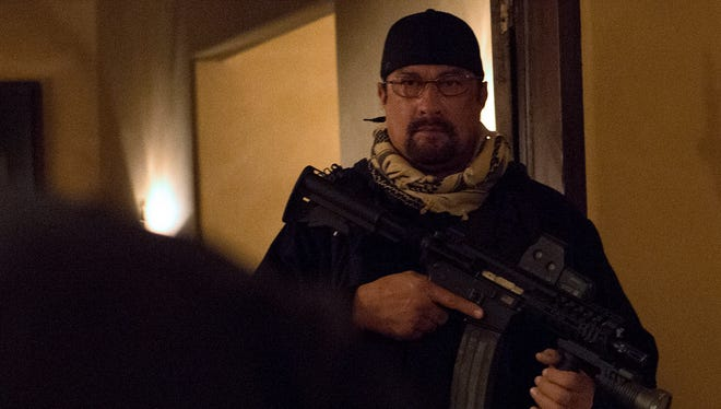 "Steven Seagal is a lethal weapon, armed or otherwise, in ""Force of Execution."""