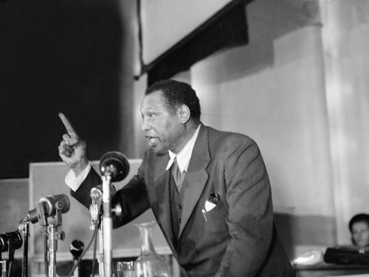 an essay on the testimony of paul robeson Read paul robeson's testimony before the huac free essay and over 88,000 other research documents paul robeson's testimony before the huac this document is the.
