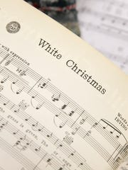 Sheet music from Irving Berlin includes White Christmas.