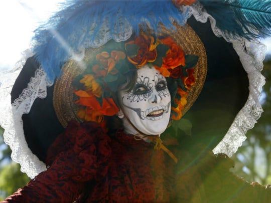 The Mesa Arts Center holds an annual Dia de los Muertos Festival in downtown Mesa.