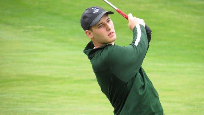 Ryan Fitzsimmons of DePaul shot 74 and won Non-Public B.