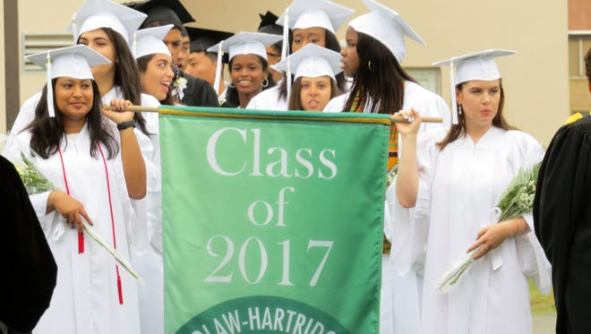 Graduation exercises for the Class of 2017 at The Wardlaw-Hartridge School were held on Friday, June 16 at the school.