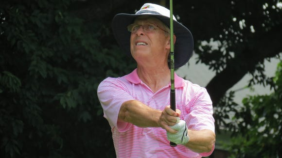 Stephen Boyd of Baltusrol GC was runner-up at the 7th New Jersey Super-Senior Amateur.