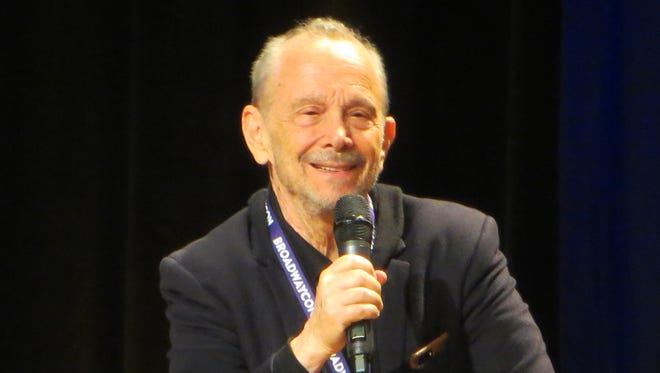 "Joel Grey speaks during ""Chicago - The Landmark Institution of Razzle Dazzle"" at BroadwayCon 2018, held from Jan. 26 to 28, 2018, at the Javits Center in Manhattan."