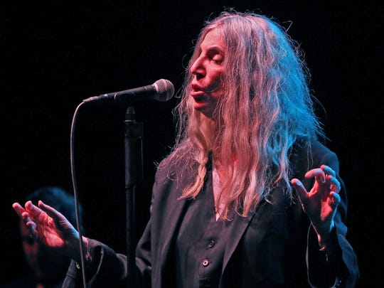 Patti Smith's 2017 performance at the Milwaukee Theatre was her first Milwaukee concert in 38 years.
