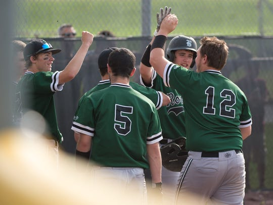 The James Buchanan baseball team is ranked fourth in