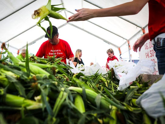 Penick's Sweet Corn is one of the vendors at this year's Farmers Markets for the 2018 season at the Capitol Complex.