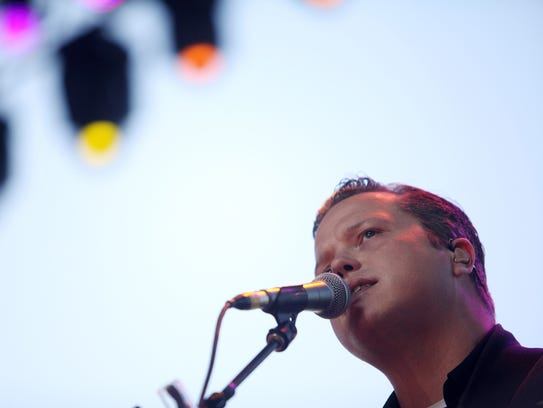 Jason Isbell performs during Stagecoach 2015. He will perform this year at 6:10-7:10 p.m. on Saturday, April 28  on the Palomino Stage.