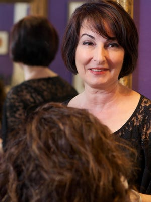 Sherry Banapour is a hair stylist at Alla Prima Styling Group in Eau Gallie.