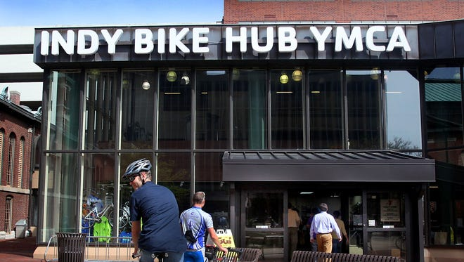 The Bike Hub/YMCA at the City Market, March 30, 2012.