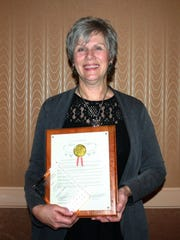 Maggie Muleski was named Citizen of the Year during