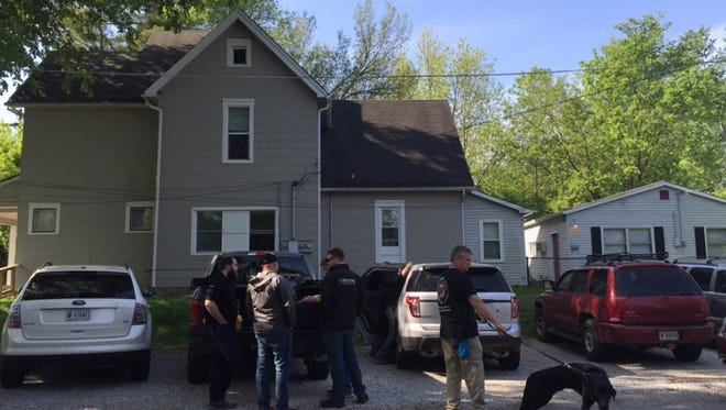 Authorities from the FBI, Plainfield Police Department and other local agencies conducted an investigation in the 200 block of Avon Avenue in Plainfield on Tuesday, May 24, 2016.