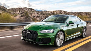 Audi builds a muscle car with the RS5