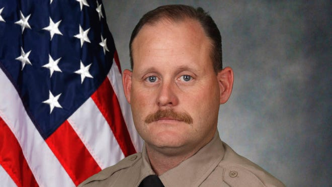 """Travis County sheriff's Deputy Robert """"Drew"""" Small was killed in a vehicle collision Friday night in Milam County, according to the Travis County sheriff's office."""