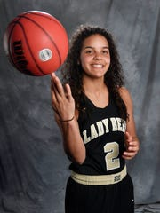 All-Midstate Akira Levy, Upperman Basketball