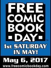 Saturday, May 6, 2017 is Free Comic Book Day.