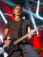 Rick Springfield performs during Hot August Nights