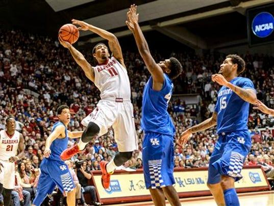Alabama Basketball G17 vs Kentucky