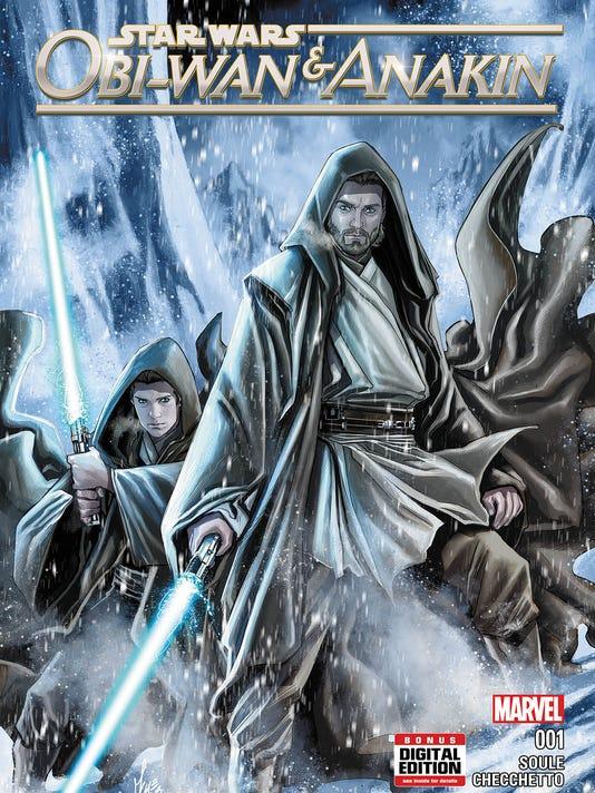 Obi Wan Anakin comic