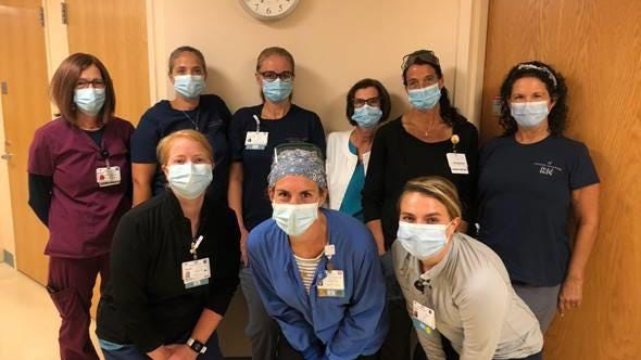 Nurses in the Progressive Care Unit at Exeter Hospital were recently honored with  a silver-level Beacon Award for Excellence by The American Association of Critical-Care Nurses.