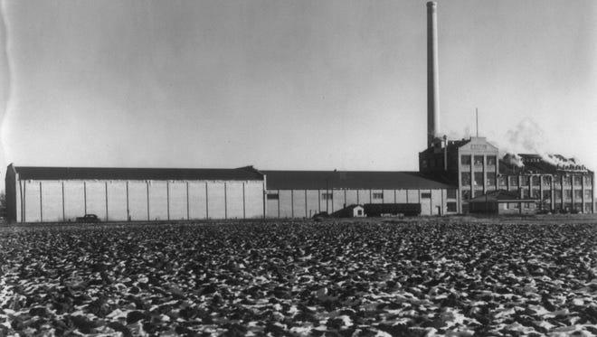 U&I Sugar Beet Factory, Chinook, Mont.