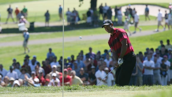 Tiger Woods at the 2010 playing of the PGA Tour event