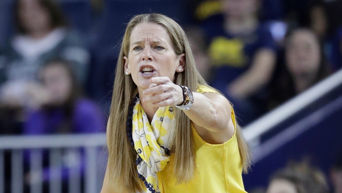 Wolverines' Kim Barnes Arico couldn't sleep after Sunday's ...