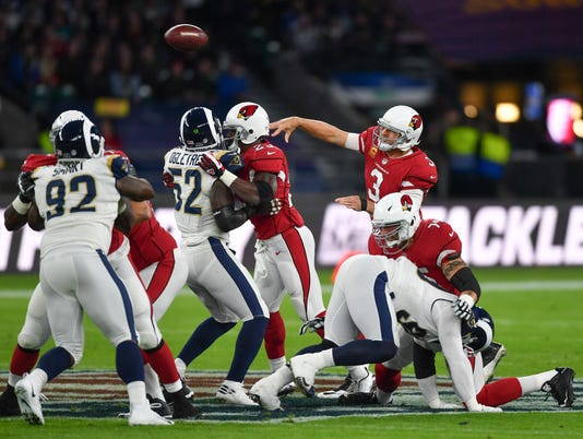 NFL: International Series-Arizona Cardinals at Los Angeles Rams
