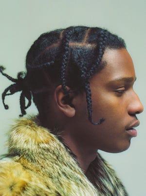 Rapper A$AP Rocky