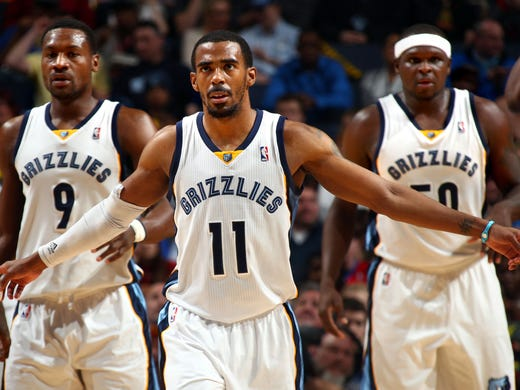 February 21, 2014 - Memphis Grizzlies guard Tony Allen
