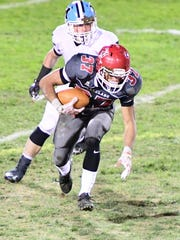 Running back Kelvin Gonzalez and the Lakeland Regional