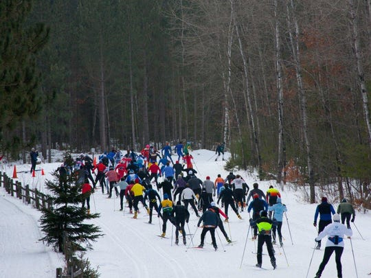 The Nine Mile Recreation Area in Rib Mountain is home to the annual Snekkevik Classic Ski Race.