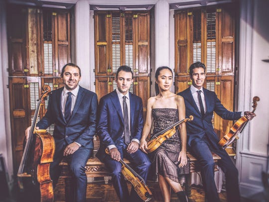 The Escher Quartet will perform a program of Mozart, Ades and Grieg's quartet music at 7:30 p.m. Tues, Oct. 24 at Akin Auditorium at Midwestern State University. The quartet is perhaps best known for its classical performances and recordings of such composers as Alexander von Zemlinsky and Felix Mendelssohn, but they have also collaborated with jazz and Latin musicians.