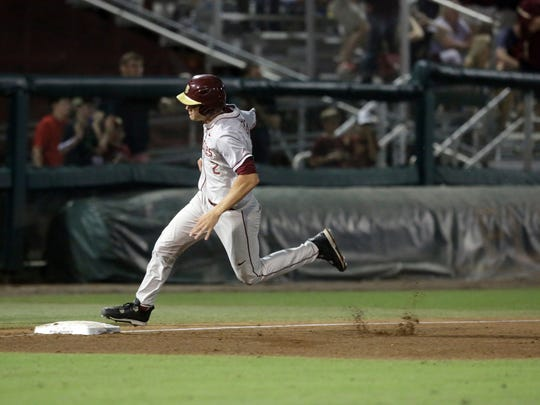 Florida State beat Auburn 6-0 in the NCAA Tallahassee regionals at Dick Howser Stadium Monday, June 5.