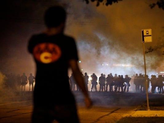 AP10ThingsToSee - Police Shooting Missouri