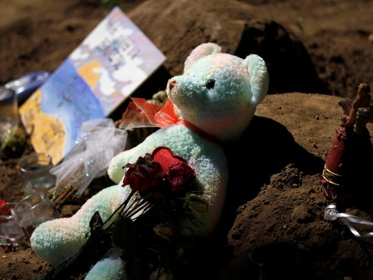 Silverton resident Cassandra Wagner had a restraining order against the man police believe killed her. A makeshift memorial rests outside of her home on Friday, Sept. 5, 2014 in Silverton, Ore.