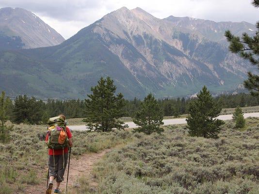 Colorado Trail Hike