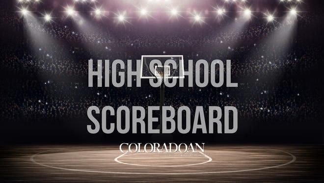 High school sports scores from around Northern Colorado.