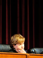 Judge Sharon G. Lee listens on May 28 as The Tennessee
