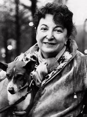 This is an undated photo of movie critic Pauline Kael. Kael, a brash, witty champion of artistic quality who thrashed both facile commercialism and self-indulgent pretense, died on Sept. 3, 2001, at age 82.