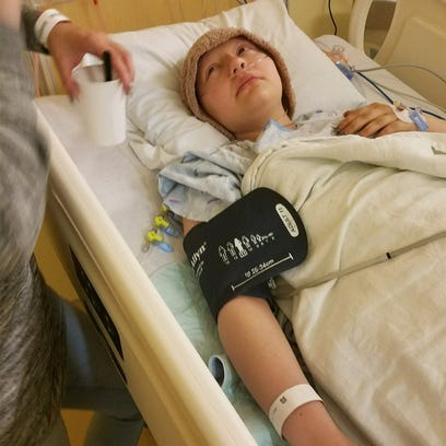 Ella spent most of her time in the hospital during