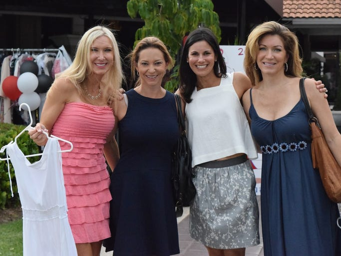 The Créme de la CRU II Party was held Wednesday evening in the Bell Tower Shops. The Love That Dress collection party benefited PACE Center for Girls, Lee County.