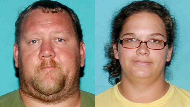 Clinton Christopher Ainsworth (left) and Patricia Anne Forest