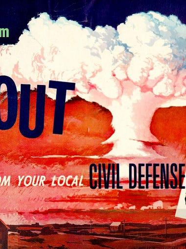 Old Civil Defense posters courtesy of Eric Green, creator of the online Civil Defense Museum.