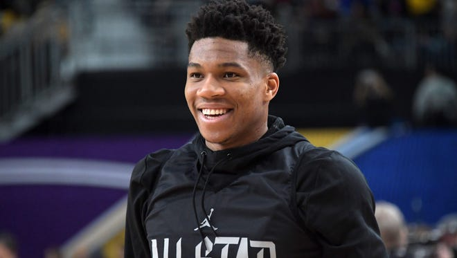 Giannis Antetokounmpo's play, hard work and personality have won over both players and fans.
