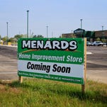 Menards home improvement store will be opening soon near Veterans Parkway in Jeffersonville, east of Interstate 65. Recent openings along Veterans Parkway in Jeffersonville include a Krispy Kreme, Culvers as well as a SavAStep and Comfy Cow. There's a Lowe's nearby west on Veterans Parkway. August 5, 2015